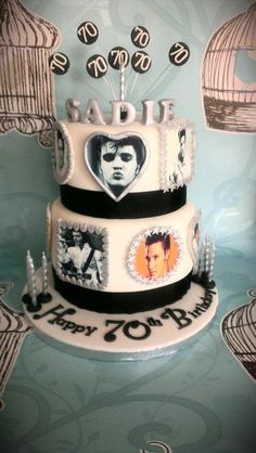 Elvis - Cake by Cakes galore at 24                                                                                                                                                                                 More