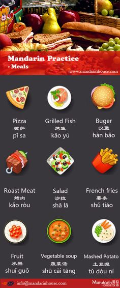 What are delicious meals! Check it out, How to take order in China. For more info please contact: bodi.li@mandarinhouse.cn The best Mandarin School in China