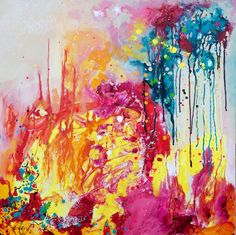 Original Painting - Color Splash by Stephen Lursen from Donna Downey Studios Inc $300!!!