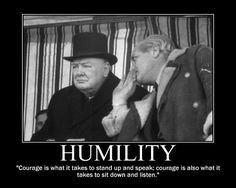 winston churchill courage quote motivational poster