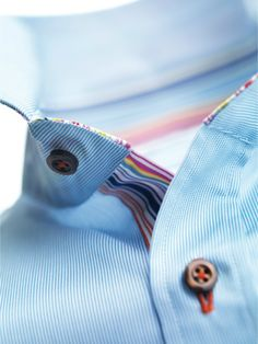 Striped Contrast Shirt by Stenstroms