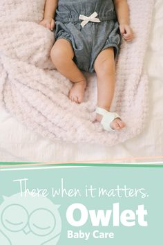 Don't let the cuteness fool you, this technological marvel is designed to alert you if your baby stops breathing. Heart Rate and Oxygen levels are monitored by hospital grade technology, known as Pulse Oximetry, to add a little peace of mind to your daily routine.