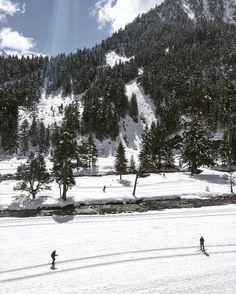 #photodujour au #pontdespagne le ski nordique à trouvé son paradis ! #cauterets #hapytravel #tourismemidipy de superbes conditions. by cauterets