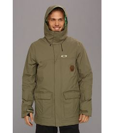 Oakley Westend Snowboarding Jacket Worn Olive - Zappos.com Free Shipping BOTH Ways