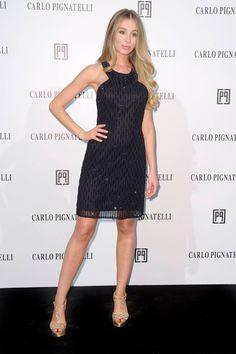Erika Aurora wearing Carlo Pignatelli #carlopignatelli #fashionshow #sfilata #hautecouture #photocall #guest #celebrity