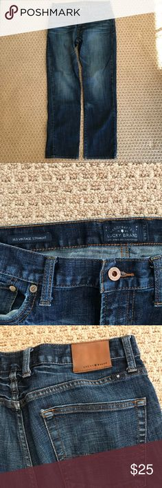Men's Lucky jeans 363 Vintage Straight 32x32 Lucky Brand Jeans Straight