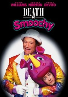 Death to Smoochy is a dark comedy directed by Danny DeVito and while the movie does seem a bit discorded, the acting saves the film. Robin Williams does what he does best and Edward Norton plays his sidekick to the manic world that is Williams original. Decent movie.