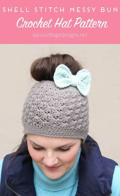 352 Best Crochet Adult hats images in 2019  6d7b8f3bbe4