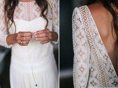 Vintage-Hochzeitskleid: Laure de Sagazan #Hochzeit #Brautkleid