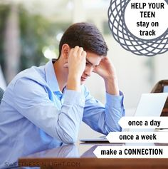 Help your teens stay on track in homeschooling
