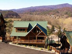 Pigeon Forge vacation rentals at http://www.encompasstravels.com/listing/Bearfoot-Lodge-3210#