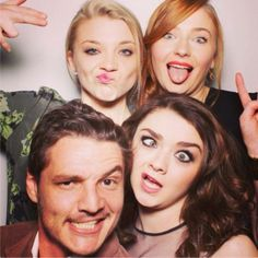 Game of Thrones cast: Season 4 being normal - if you follow the link there's more good ones.