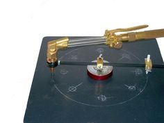 Magnetic Circle Layout & Burning Guide - 28439 - Flange Wizard