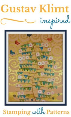 Another fun project! Art Nouveau for Kids: Pattern Stamping Inspired by Gustav Klimt - via Woo! Jr. Network Activities