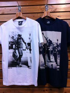 chunk(チャンク)からスターウォーズのプリントTシャツです。大人の遊び心をくすぐられるプリントですね。価格¥5,250-