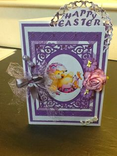 Happy easter -  card - scrap - paperarts