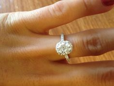 my engagement ring :)