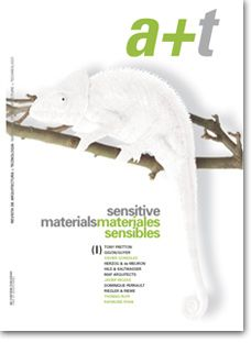 "First issue from the Sensitive Materials series published in a+t magazine.  In architecture, the undesrstanding of reality as a unit, as something permanent and like ""what it is"", gradually being replaced by the appearance of new sensations divorced from the physical world. These new stimuli plunge us into the scenario of ""what it seems to be"". Faced with this situation, the return to reality reacts like the attitude that demands the five senses once more."