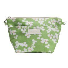 Apple & Bee Medium Journey Cosmetic Bag, Petals Sage   $28.00 #Purse #Beauty #Handbag #Style #Bag #Makeup
