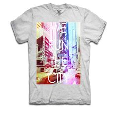 Run The City Tee Gray, $19.50, now featured on Fab.