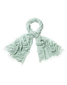 Ultra Soft Modal Scarf £29 Zen Green - Tranquil