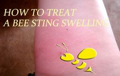 How to Treat a Bee Sting Swelling - 10 Home Remedies for Treatment That Actually Work Wasp Sting Swelling, Wasp Stings, Bee Sting Essential Oil, Essential Oils, Bee Sting Symptoms, Treating Bee Stings, Honey Bee Sting, Remedies For Bee Stings, Green Garden