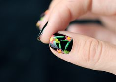 Tropical Nail art( i missed this blog)