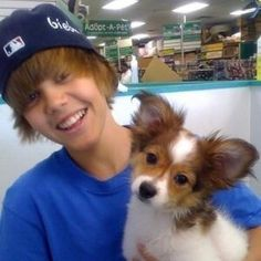 Pin for Later: The Ultimate Celebrity Throwback Gallery Justin Bieber Justin threw it way back to his innocent days with this cute photo.