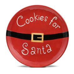 Cookies for Santa Plate                                                       …