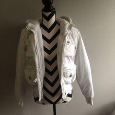 White jacket Good condition!! Very warm!! Jackets & Coats