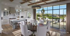 Floor to ceiling windows and a glass door? Yes please!