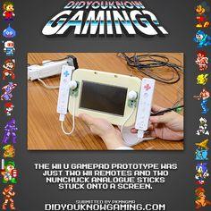 Did You Know Gaming? Nintendo Wii U. http://www.vgfacts.com/trivia/1076/