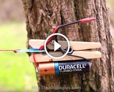He uses items found in a junk drawer to create THIS trip-wire alarm http://leadoctopus.com/ #wordpress #WP #news