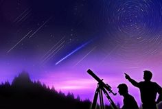 Go star-gazing