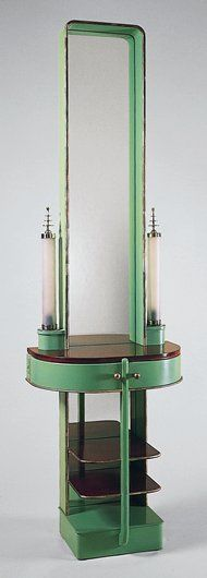 'Skyscraper' Night Table - 1928-29 - by Kem Weber. More: https://en.wikipedia.org/wiki/Kem_Weber