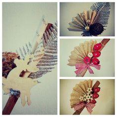 Winter decoration Christmas Art, Cinnamon, Decoration, Winter, Cards, Ideas, Christmas, Canela, Decor