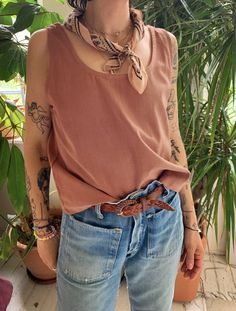 Simple Style, My Style, Clothes Horse, Cute Casual Outfits, Fashion Outfits, Fashion Ideas, Street Style, Style Inspiration, Tank Tops