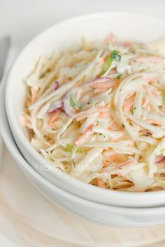 There are umpteen coleslaw recipes spread across the world, and you have 534672 different ways to go about making it. Here's just one of them. And the story behind it. For a short period (I g…