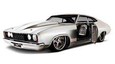 ◆ Visit MACHINE Shop Café... ◆ ~ Aussie Custom Cars & Bikes ~ (Adam Le Brese Ford XC Falcon)