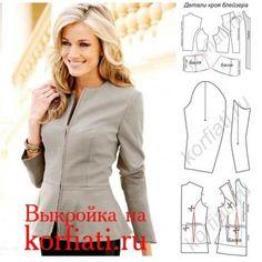 Jacket , patterns instructions
