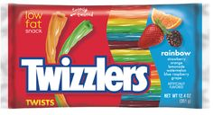 rainbow twizzlers - These are awesome!  Eating them right now and they are not artificial tasting.