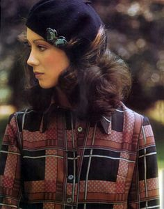 Vogue UK 1971 Model Moyra Swann