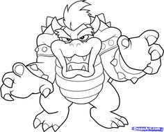 bowser free coloring coloring pages for kids coloring sheets adult coloring coloring