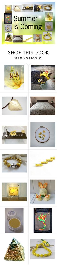 """""""Summer is Coming: Handmade Gifts"""" by paulinemcewen ❤ liked on Polyvore featuring Grund, Giallo and rustic"""