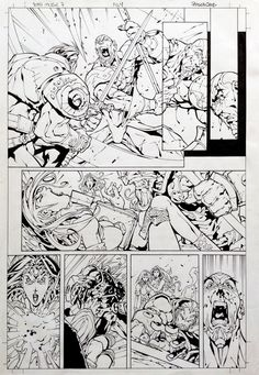 10th Muse #07, page 04 - Roger Cruz, in RogerCruz's 10th Muse #07 Comic…
