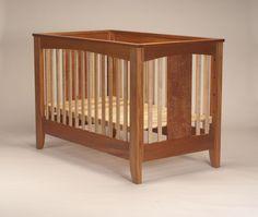 Crib design idea - not the colors, but shape. Crib design idea - not the colors, but shape. Rio Furniture, Baby Furniture, Pallet Furniture, Furniture Plans, Baby Bedroom, Baby Boy Rooms, Baby Cribs, Baby Cradle Plans, Baby Cradle Wooden