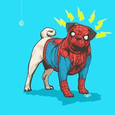 Dogs of the Marvel Universe by Josh Lynch on Behance