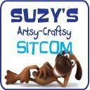 """SuzysSitcom.com - bunch of projects! """"Because life is a sitcom covered in glitter, hot glue strings and dog hair....isn't it?""""  Love her tag line!!!"""