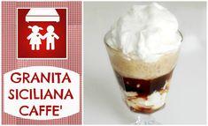 Granita Caffè con Panna (Dolci) 2C+K - YouTube