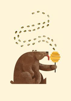 Illustration / bear